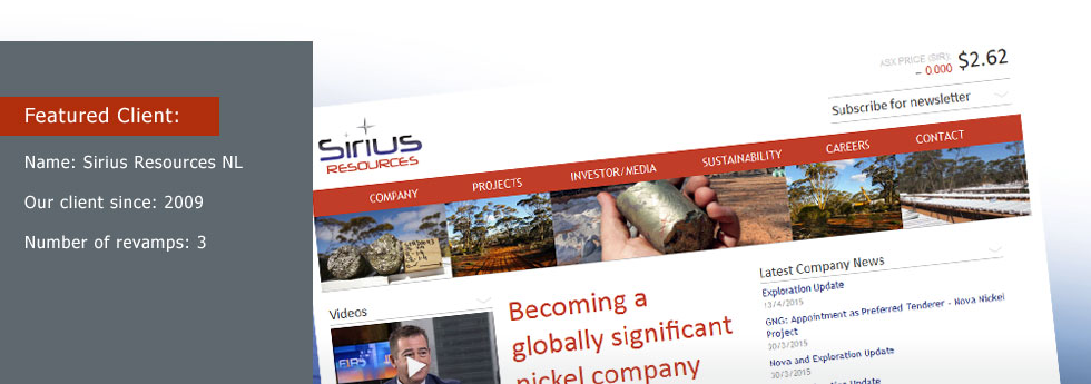 Sirius Resources